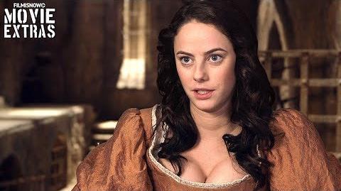 Pirates of the Caribbean Dead Men Tell No Tales On-set visit with Kaya Scodelario 'Carina Smyth'