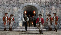 Fort Charles prison door
