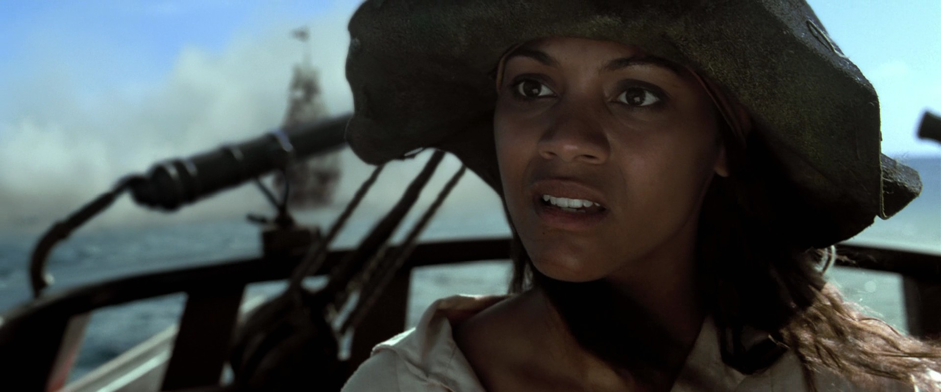 Anamaria during the Black Pearl Attack