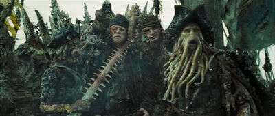 Davy Jones Crew Summon Kraken DMC