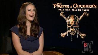 Kaya Scodelario Interview - Pirates of the Caribbean Dead Men Tell No Tales