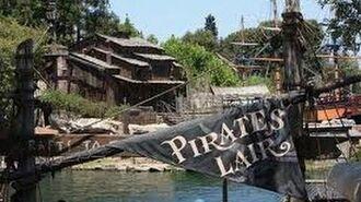 Disneyland, Pirate's Lair on Tom Sawyer's Island Full HD Walk-through POV