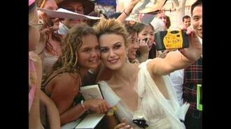 Pirates of the Caribbean Dead Man's Chest Premiere Highlights Broll