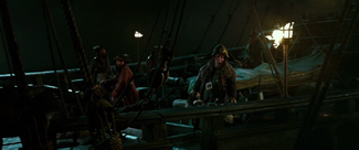 Barbossa crew Black Pearl