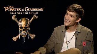 Brenton Thwaites Interview - Pirates of the Caribbean Dead Men Tell No Tales