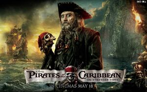 604732 piratyi karibskogo morya na strannyih beregah chernaya boroda