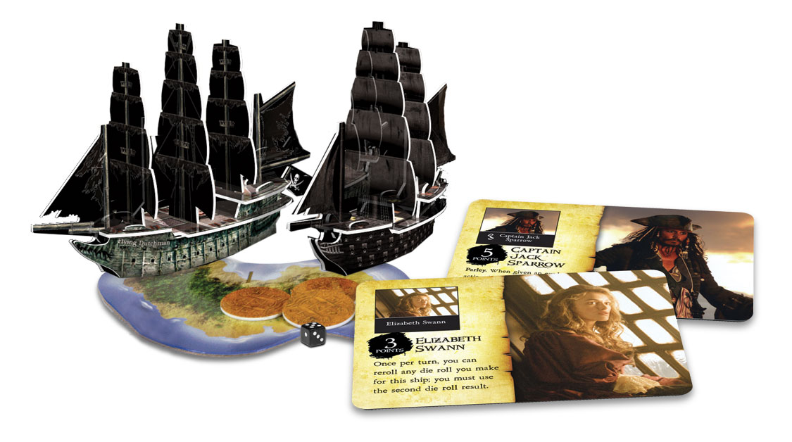 050 RANGER Pirates PocketModel Game