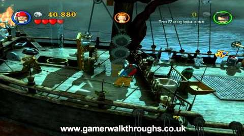 LEGO Pirates of the Caribbean - Queen Anne's Revenge attack
