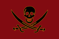 Barbossa second flag