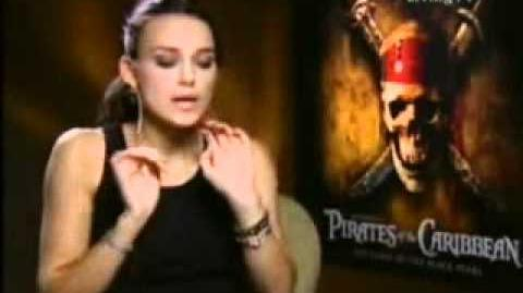 Keira Knightley - Pirates of the Caribbean interview