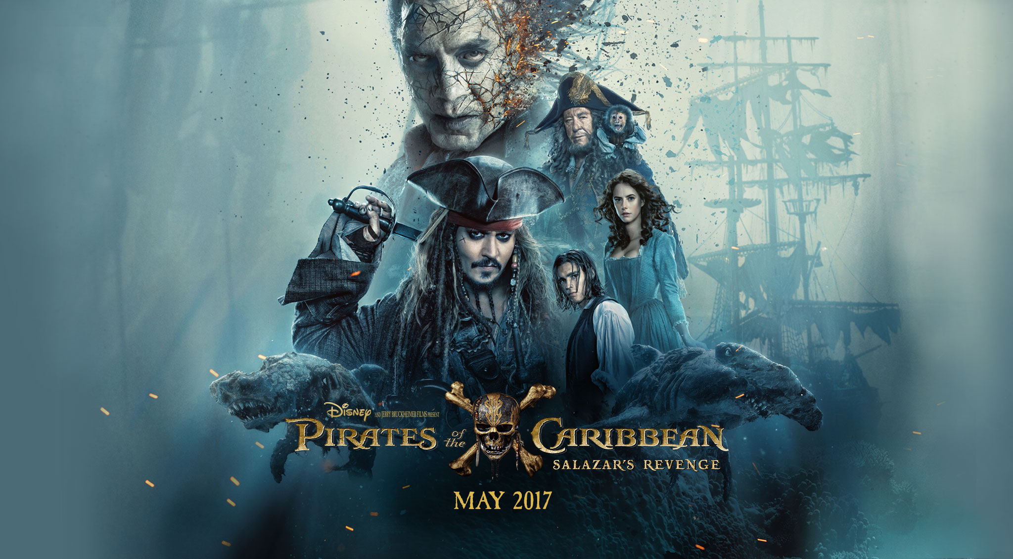 image - pirates of the caribbean salazar's revenge wallpaper