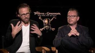 Pirates of the Caribbean Dead Men Tell No Tales Ronning & Sandberg Official Movie Interview