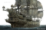 DMTNT Concept Art Flying Dutchman 2
