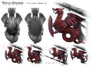 DMTNT Concept Art Red Dragon figurehead