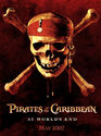 Pirates of the Caribbean At World's End Skull Promo Poster