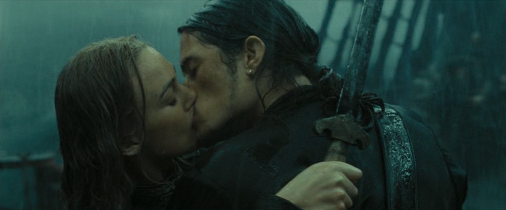 Image result for pirates will turner and elizabeth swann