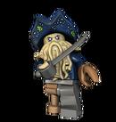 LEGO Davy JonesFigure