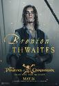 Brenton Thwaites POTC5 poster