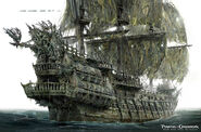 DMTNT Concept Art Flying Dutchman
