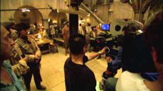 Pirates of the Caribbean Dead Man's Chest Behind The Scenes Production Broll Part 1 of 3
