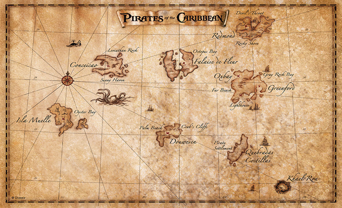 Map Of Pirates Of The Caribbean Pirates of the Caribbean (2003 video game) | PotC Wiki | FANDOM