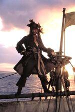 ПЧЖ Джек на мачте лодки