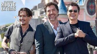 Pirates of the Caribbean Dead Men Tell No Tales European Premiere Disneyland Paris