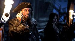 Blackbeard Offering a Doubloon to QAR Crew1