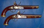 Brace of FLintlock pistols