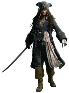 Jack Sparrow KHIII Render