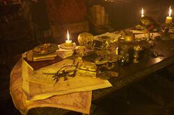 Blackbeard's cabin