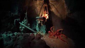 New Version ~ Pirates of the Caribbean ride at Disneyland California