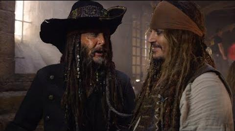 Pirates of the Caribbean Dead Men Tell No Tales Paul McCartney on Set