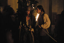 Jack and Will in Tortuga