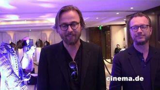 Pirates of the Carebbean Espen Sandberg, Joachim Rønning Interview CINEMA-Redaktion