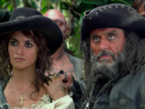 Angelica and Blackbeard