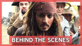 Behind the Scenes - Pirates of the Caribbean Dead Men Tell No Tales