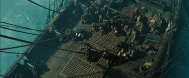 Barbossa Kneeling AWE