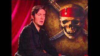 "Pirates of the Caribbean Jack Davenport ""Norrington"" Exclusive Interview"