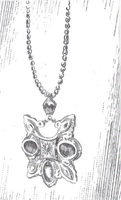 Sun-and-stars amulet