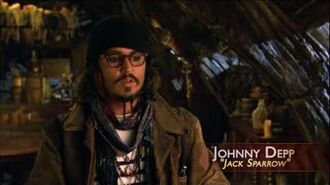 The Actors in the Maelstrom- Pirates of the Caribbean 3 special features