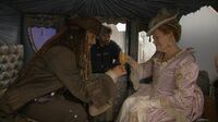 Johnny And Judi - Pirates of the Caribbean On Stranger Tides behind the scenes(exclusive)