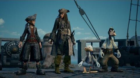 KINGDOM HEARTS III – E3 2018 Pirates of the Caribbean Trailer-1