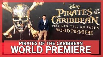 Pirates of the Caribbean World Premiere in Shanghai