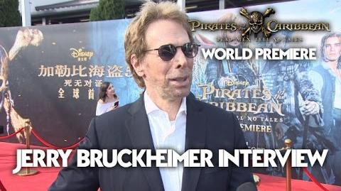 Jerry Bruckheimer Interview Pirates Of The Caribbean Dead Men Tell No Tales World Premiere (HD)