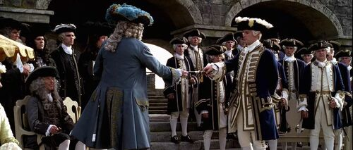 Norrington, Swan and officer