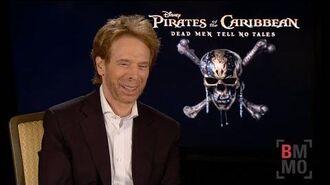 Jerry Bruckheimer Interview - Pirates of the Caribbean Dead Men Tell No Tales