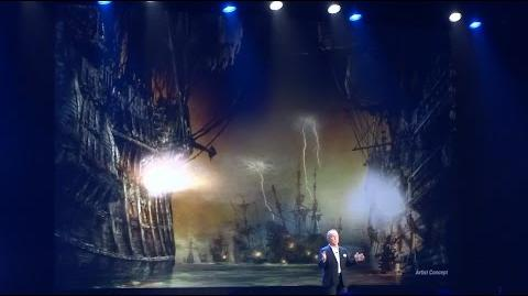 Pirates of the Caribbean ride preview POV for Shanghai Disneyland at D23 Expo 2015