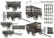 DMTNT Concept Art Undertaker Cart