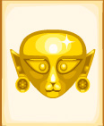 Inca Cat Mask